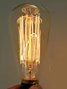 40w e27 edison st64 ampoule d\'eclairage retro (220-240v)
