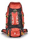 55 L Заплечный рюкзак Восхождение Спорт в свободное время Отдых и туризмВодонепроницаемость Защита от пыли Пригодно для носки