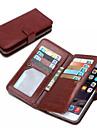 iphone 7 плюс-де-джи бумажник PU кожаный чехол для Iphone 6с 6 плюс с 9 слотов для карт