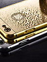 Plating Mirror Back with Metal Frame Phone Case for iPhone 5/5S (Assorted Colors)
