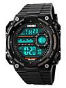SKMEI Masculino Relogio Esportivo Relogio de Pulso Relogio digital Digital LCD Calendario Cronografo Impermeavel alarme Relogio Esportivo