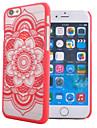 용 아이폰7케이스 / 아이폰7플러스 케이스 / 아이폰6케이스 / 아이폰6플러스 케이스 투명 / 패턴 / 엠보싱 텍스쳐 케이스 뒷면 커버 케이스 만다라 하드 PC 용 Apple아이폰 7 플러스 / 아이폰 (7) / iPhone 6s Plus/6