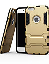 For iPhone X iPhone 8 iPhone 6 iPhone 6 Plus Case Cover Shockproof with Stand Back Cover Case Armor Soft TPU for iPhone X iPhone 8 Plus
