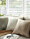 pcs Cotton Polyester Pillow With Insert, Striped Casual Accent/Decorative Country Traditional Traditional/Classic Modern/Contemporary