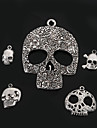 Women\'s Pendant Charms Skull Silver Plated Metal Fashion Jewelry For Daily