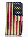 Case For Samsung Galaxy Samsung Galaxy Case Card Holder Wallet with Stand Flip Full Body Cases Flag PU Leather for Xcover 3