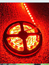 5m 600 LEDs 3528 SMD Red Cuttable / Rechargeable / Waterproof 12 V / IP65 / Self-adhesive