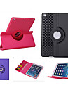 Case For iPad Air with Stand Auto Sleep / Wake Origami 360° Rotation Full Body Cases Solid Color PU Leather for iPad Air