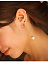 Hot Sales Fashion Jewelry Elegant Imitation Pearl Drop Earring