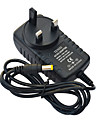 Jiawen 110~240V to DC12V 1A Power Supply Adapter Converter Transformer - Black (EU Plug)