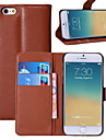 Case For Apple iPhone 6 iPhone 6 Plus Card Holder Wallet with Stand Flip Full Body Cases Solid Color Hard PU Leather for iPhone 6s Plus
