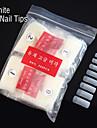 500PCS White Half Nail Tips