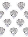 GU5.3(MR16) Lampadas de Foco de LED MR16 3 COB 450 lm Branco Quente Branco Frio 2800-3200/6000-6500 K Decorativa AC 85-265 DC 12 AC 12 V