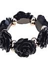 Femme Bracelets de rive - Original Mode Autres Roses Fleur Noir Orange Beige Rose Bracelet Pour Soiree Quotidien Decontracte