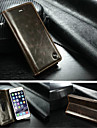 CaseMe Luxury Genuine Leather Wallet Card Slot Cover Flip Case With Stand For iPhone 6 Plus/6S Plus