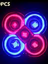 10шт morsen® полный спектр 10w e27 / gu10 3red + 2blue вел свет для системы гидропоники цветка