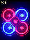 10pcs morsen 전체 스펙트럼 10w e27 / gu10 3red + 2blue led 꽃 식물 수경 법 시스템에 대 한 조명
