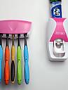 Подставки для зубных щеток Ванна Пластик Многофункциональный / Экологически чистый