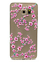 Case For Samsung Galaxy Samsung Galaxy Case Transparent Back Cover Flower TPU for S6 edge plus S6 edge S6 S5 Mini S5