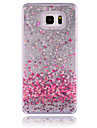 Case For Samsung Galaxy Samsung Galaxy Note Flowing Liquid Back Cover Heart PC for Note 5 Note 4 Note 3