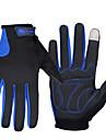 FJQXZ Спортивные перчатки Перчатки для велосипедистов Перчатки для сенсорного экрана Сохраняет тепло С защитой от ветра Флисовая