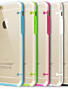 Ultra Transparent Back Cover Case for iPhone 6 Plus (Assorted Colors)