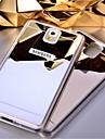 Capinha Para Samsung Galaxy Samsung Galaxy Note Espelho Capa traseira Cor Solida Acrilico para Note 5 Note 4 Note 3