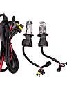 2pcs H4 Automatique Ampoules electriques 55W 2800lm 2 Xenon HID Lampe Frontale