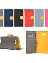 Case For Samsung Galaxy Samsung Galaxy Case Card Holder Wallet with Stand Flip Full Body Cases Solid Color PU Leather for Xcover 3 J7 J5