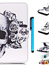 desenho colorido ou padrao de couro pu para Samsung Galaxy S3 / S3 Mini / S4 / S4 Mini / S5 / S5 Mini / S6 / S6 borda / beira S6 mais