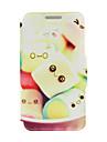Для Кейс для Huawei / P8 / P8 Lite со стендом / Флип Кейс для Чехол Кейс для Мультяшная тематика Твердый Искусственная кожа HuaweiHuawei