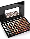 88 Paleta de Sombras Secos Paleta da sombra Po Grande Maquiagem para o Dia A Dia / Maquiagem Esfumada