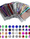 50 pcs Nail Foil Striping Tape nail art Manicure Pedicure Lovely Cartoon / Punk / Fashion Daily / Foil Stripping Tape