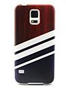 Для Кейс для  Samsung Galaxy С узором Кейс для Задняя крышка Кейс для Полосы / волосы TPU SamsungS6 edge / S6 / S5 Mini / S5 / S4 Mini /