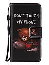 용 삼성 갤럭시 케이스 카드 홀더 / 스탠드 / 플립 / 패턴 / 마그네틱 케이스 풀 바디 케이스 단어 / 문구 인조 가죽 Samsung A7(2016) / A5(2016) / A3(2016)