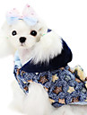 Dog Coat Dog Clothes Fashion Stars Yellow Blue