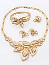 Γυναικεία Κοσμήματα Σετ Στρας Μοντέρνο, κυρίες, Ευρωπαϊκό, Μοντέρνα Περιλαμβάνω Για Γάμου Πάρτι Γενέθλια Αρραβώνας Δώρο Καθημερινά / Δακτυλίδια / Cercei / Κολιέ / Βραχιόλι