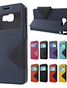 ROAR KOREA Diary Stand Leather Wallet Case Cover for Samsung Galaxy A5 SM-A510F (2016) / A7 A710F (2016)