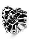 Men\'s Ring - Stainless Steel Skull Punk, European, Fashion 8 / 9 / 10 Silver For Halloween Daily Casual