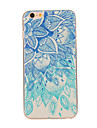 Pour iPhone 8 iPhone 8 Plus iPhone 6 iPhone 6 Plus Etuis coque Motif Coque Arriere Coque Mandala Flexible PUT pour iPhone 8 Plus iPhone 8
