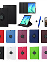New 360 Rotating PU Leather Stand Case Cover For Samsung Galaxy Tab S2 8.0 T715/S2 9.7 T815 Tablet+Stylus+Film