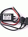 הוביל 2 יציאות USB כולל כבל dc 5v / 3a מטען לרכב
