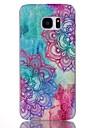 용 Samsung Galaxy S7 Edge 패턴 케이스 뒷면 커버 케이스 만다라 PC Samsung S7 edge plus / S7 edge / S7