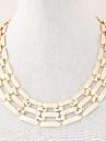Femme Collier court /Ras-du-cou Colliers chaines Alliage Mode bijoux de fantaisie Bijoux Pour Soiree Quotidien Decontracte