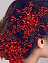 женские украшения жемчуг цветок волос расчески для свадьбы