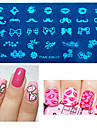 1pcs Nail Stamping Template Daily Fashion High Quality