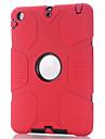 antichoc pour Apple iPad mini-1/2/3 caoutchouc resistant film etui rigide de protection d\'ecran de couverture