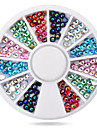1roue Colore AB strass 3d nail art decorations
