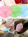 Smile Face Rice Beans Washing Filter Clip Sifters Tools Grains Washer Net Kitchen Gadget(Random Color)