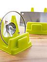 praticas de cozinha pot rack de exibicao multifuncional prateleiras drenar cor aleatoria
